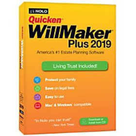 Quicken Will Maker Plus 2019 Traditional
