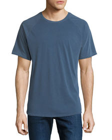 Threads For Thought Men's Contrast-Raglan Sleeve T