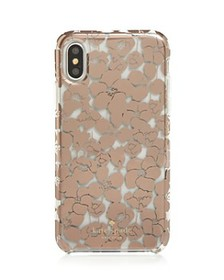 kate spade new york - Floret Clear iPhone X/XS/XS