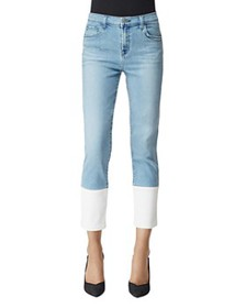 J Brand - Ruby Crop Stovepipe Jeans in Teleport