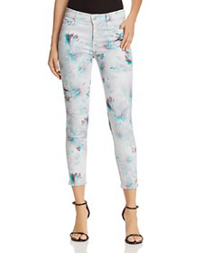 J Brand - 835 Mid Rise Crop Skinny Jeans in 3D Ody