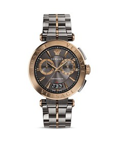 Versace - Aion Two-Tone Chronograph, 45mm