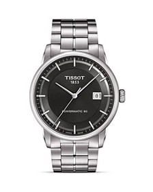 Tissot - Luxury Automatic Men's Anthracite Watch,