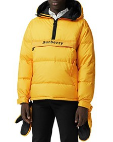 Burberry - Halstead Down Pullover Jacket with Deta