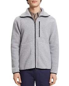 Theory - Glacier Reversible Zip-Front Fleece Jacke