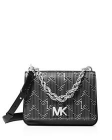 MICHAEL Michael Kors - Matt Chain Leather Shoulder