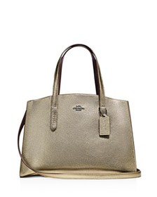 COACH - Charlie Carryall with Metallic Interior