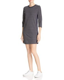 FRENCH CONNECTION - Tim Tim Striped T-Shirt Dress