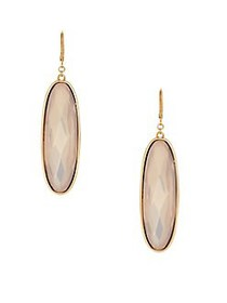 Vince Camuto Orient Express Crystal Drop Earrings