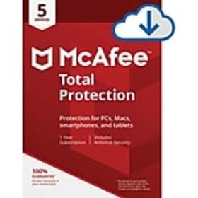 McAfee Total Protection for 5 Devices for Windows
