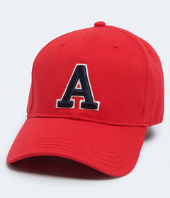 """Aeropostale Embroidered """"A"""" Fitted Hat"""