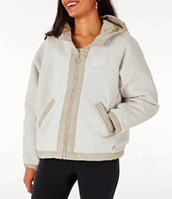 Women's Nike Sportswear Reversible Sherpa Full-Zip