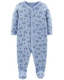 Osh Kosh Baby BoyDog Snap-Up Thermal Sleep & Play