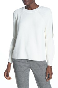 RACHEL ROY COLLECTION Cable Sleeve Cold Shoulder S