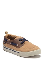 OshKosh Albie Eyelet Boat Shoe (Toddler & Little K