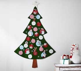 Pottery Barn Tree-Shaped Advent Calendar