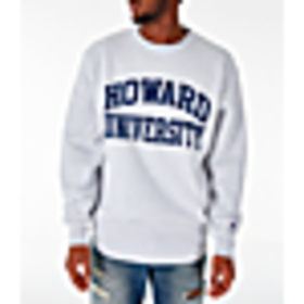 Men's Champion Howard Bison College Reverse Weave