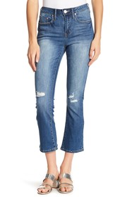 Seven7 High Rise Crop Flare Jeans