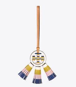 Tory Burch MILLER MULTI-TASSEL BAG CHARM