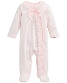 First Impressions Baby Girls Footed Tulle Coverall