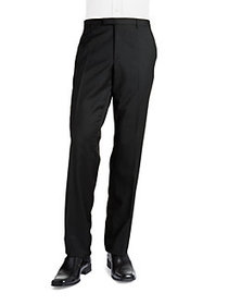 HUGO Wool 4-Pocket Trousers CHARCOAL