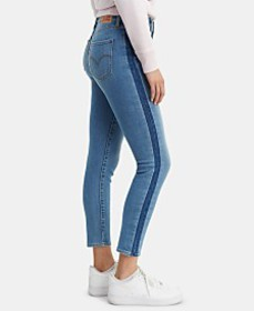 Levi's® 311 Striped Shaping Ankle Skinny Jeans