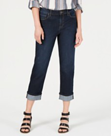 Style & Co Cuffed Capri Jeans, Created for Macy's