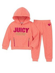 Juicy Couture Little Girl's 2-Piece French Terry S
