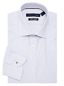 Tommy Hilfiger Windowpane Dress Shirt QUARTZ