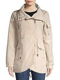 French Connection Asymmetrical Zip Front Jacket BO