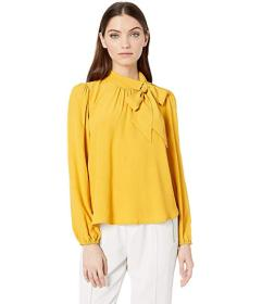 Bebe Bow Tie Blouse