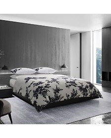 Vera Wang - Ink Botanical Sateen Bedding Collectio