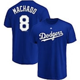 Majestic Men's Los Angeles Dodgers Manny Machado #