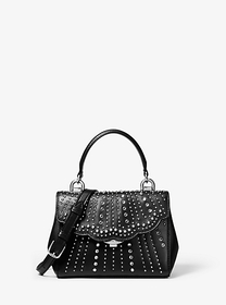 Michael Kors Ava Extra-Small Embellished Leather C