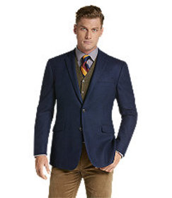 Jos Bank 1905 Collection Tailored Fit Woven Patter