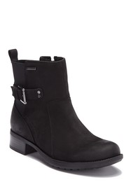 Rockport Claudia Waterproof Leather Buckle Bootie
