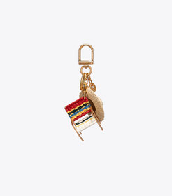 Tory Burch BEACH CHAIR KEY RING