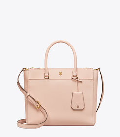 Tory Burch ROBINSON DOUBLE-ZIP TOTE