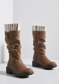 Courageous Caper Boot Brown