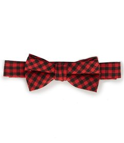 Starting Out Baby Mini Buffalo Plaid Tie