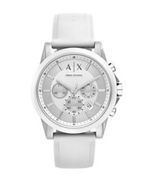 Armani Exchange AX1325 Polished Nylon and Silicone