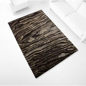 Foxtail Hand-Tufted Charcoal Area Rug