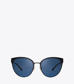Tory Burch Metal Cat-Eye Sunglasses