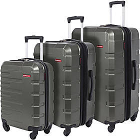 Swiss Mobility Bags Quad 3 Piece Hardside Spinner