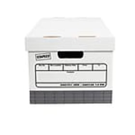 Staples Recycled Corrugated Boxes, Medium-Duty, Le