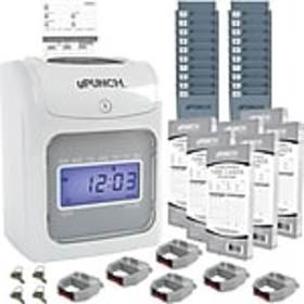 uPunch Electronic Calculating Punch Card Time Cloc