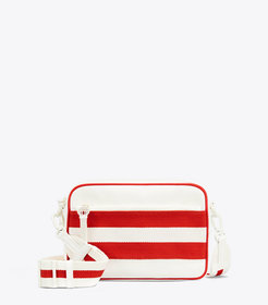 Tory Burch RETRO STRIPED CROSS-BODY