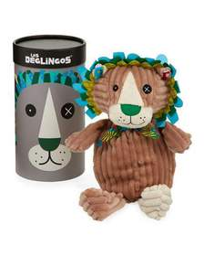 Les Deglingos Simply Jelekros the Lion Stuffed Toy