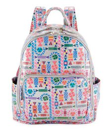 Bari Lynn Girls' Candy-Print Shimmer Backpack