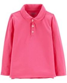 carters Toddler Girl Jersey Polo